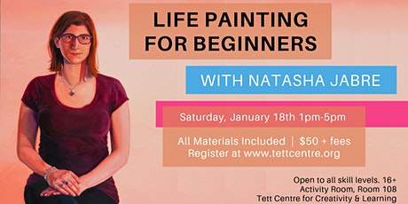 Life Painting for Beginners tickets