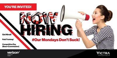Open Hiring Event for Sales Consultants - Morristown, NJ