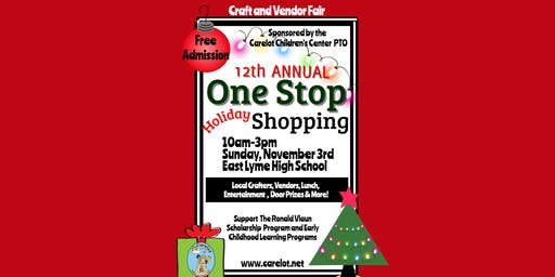 One Stop Holiday Shopping Craft and Vendor Fair