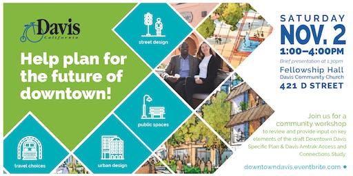 Downtown Davis Community Workshop