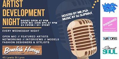 Artist Development Night