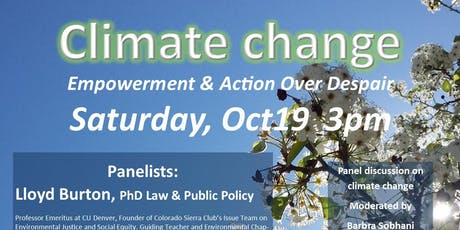 Climate Change: Empowerment & Action Over Despair tickets