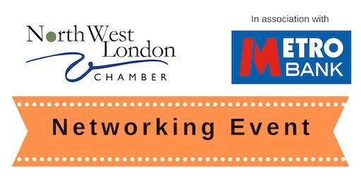 Edgware Networking @ Metro Bank | NW London Chamber, Fri 13th December