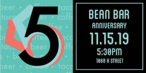 Bean Bar 5 Year Anniversary Party