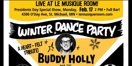 Winter Dance Party Tribute:  A tribute to Buddy Holly, Richie Vallens + tickets