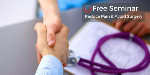 Free Seminar: Reduce Pain & Avoid Surgery Oct 26 Uniontown