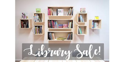Studio Library Sale! (2020-01-19 starts at 11:00 AM)