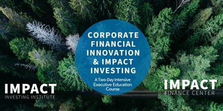 Corporate Financial Innovation & Impact Investing tickets