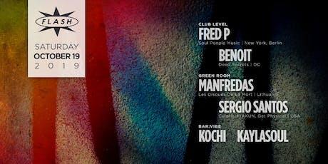 Fred P - Manfredas - Sergio Santos - Kochi - Meegs tickets