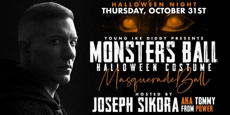 Monsters Ball: Halloween Costume Masquerade Ball Hosted By Joseph Sikora tickets