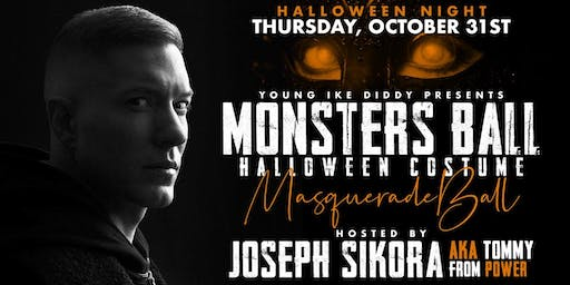 Monsters Ball: Halloween Costume Masquerade Ball Hosted By Joseph Sikora