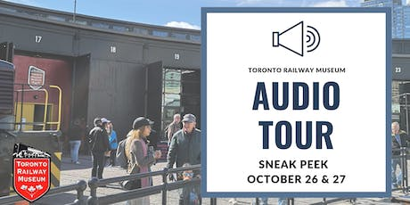 Audio Guided Tour Sneak Peek tickets