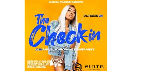 The Check In: Annual Jcsu homecoming kickoff tickets