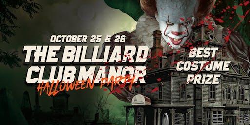 The Billiard Club Manor's Halloween Party