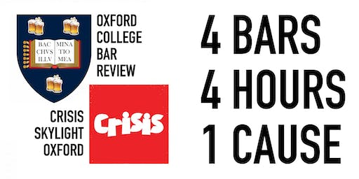 The Oxford College Bar Crawl for Homelessness