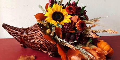 Make + Sip Floral Cornucopia Workshop tickets