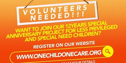 Volunteers Needed For Humanitarian Services