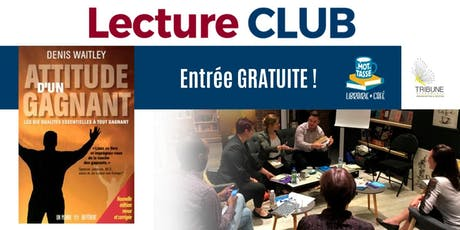 LectureCLUB : Attitude d'un gagnant tickets