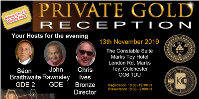 Private Gold Reception - (PGR )