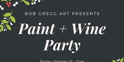 Paint + Wine Party