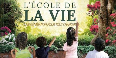 PROJECTION DU FILM : L'ÉCOLE DE LA VIE - Avec Julien Peron, réalisateur et producteur (France) billets