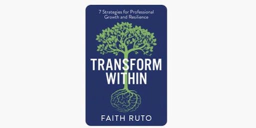 Transform Within Book Launch Party by Faith Ruto