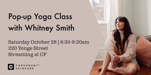 Pop-up Yoga Class with Whitney Smith