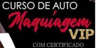 Curso de Auto Maquiagem VIP (Com certificado e apostila)