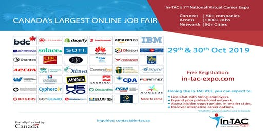 Canada's Largest Online Job Fair, Toronto, ON