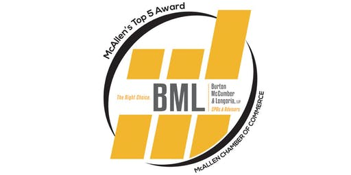 BML's Top 5 Small Business Awards