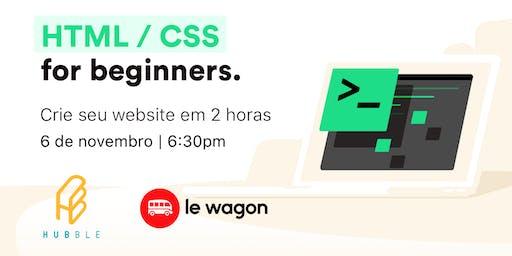 Introdução a webdesign - oficina de front-end HTML CSS