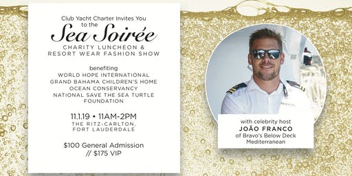 Sea Soirée Charity Luncheon and Fashion Show