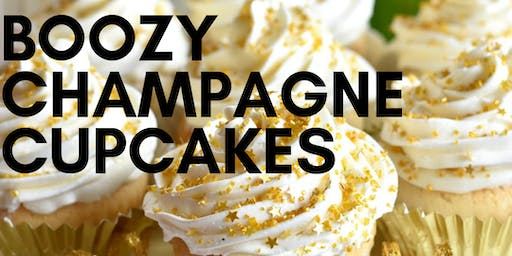 BUILD & BUBBLY | BOOZY CHAMPAGNE CUPCAKE CLASS