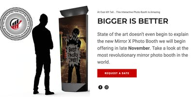 MIRROR X BOOTH: THE NEXT-GEN MAGIC MIRROR PHOTO BOOTH TOUCH & PLAY EVENT