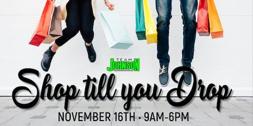 Team Johnson's Shop Till You Drop Trip