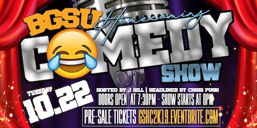 #BGSU Homecoming Comedy Show Featuring Chris Pugh & J Hill