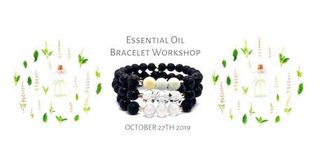 Essential Oil Lava Rock Stretch Bracelet Workshop tickets