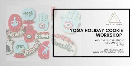 Yoga Holiday Cookie Workshop