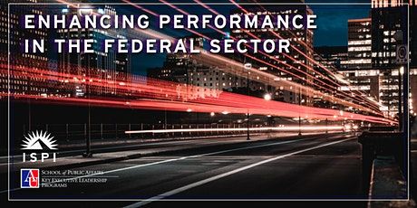 2020 Key FEDTalks: Enhancing Performance in the Federal Sector tickets