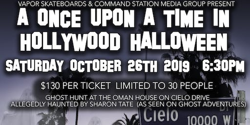 A Once Upon A Time In Hollywood Halloween Ghost Hunt at The Oman House