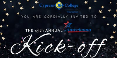 Cypress College Foundation Americana 2020 Kick-Off