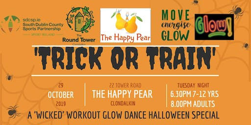'Trick Or Train' The Happy Pear Glow Dance