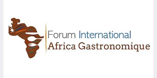 Forum International  Africa Gastronomique Dakar 2019