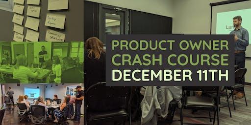 Product Owner Crash Course - Dayton