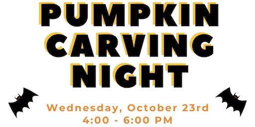Pumpkin Carving Night