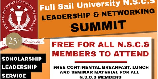 NSCS Leadership and Networking Summit
