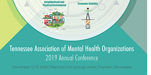 2019 TAMHO Annual Conference   SOCIAL DETERMINANTS OF HEALTH -- Addressing Social Determinants to Improve Overall Health in Tennessee
