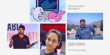 Oct 2019 #mumtechup : DevOps tickets