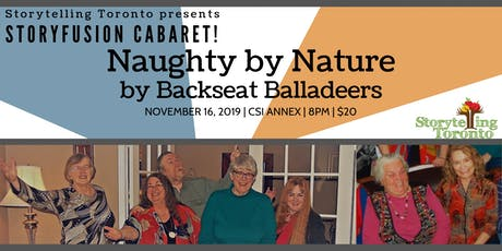 Naughty By Nature by the Backseat Balladeers tickets