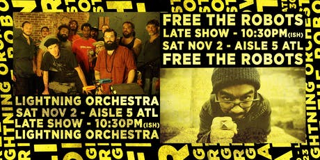 Free the Robots, Lightning Orchestra tickets
